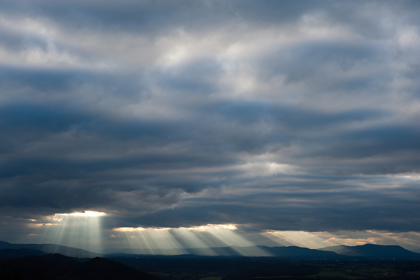 Shenandoah Valley Sunset, Virginia
