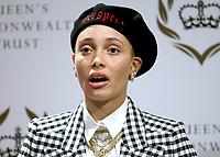 08 March 2019 - London, England - Adwoa Aboah during a panel discussion convened by the Queen's Commonwealth Trust to mark International Women's Day in London. Photo Credit: ALPR/AdMedia