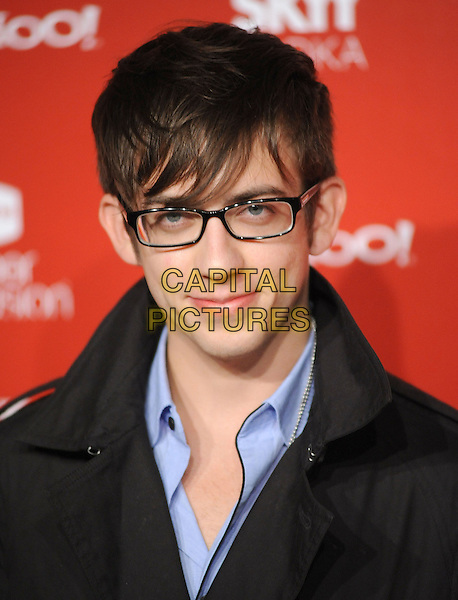 KEVIN McHALE.US Weekly's Hot Hollywood Party 2009 held at Voyeur, West Hollywood, California, USA. .November 18th, 2009.headshot portrait blue black glasses.CAP/RKE/DVS.©DVS/RockinExposures/Capital Pictures.