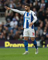 Brighton &amp; Hove Albion's Alireza Jahanbakhsh<br /> <br /> Photographer David Horton/CameraSport<br /> <br /> The Premier League - Brighton and Hove Albion v Wolverhampton Wanderers - Saturday 27th October 2018 - The Amex Stadium - Brighton<br /> <br /> World Copyright &copy; 2018 CameraSport. All rights reserved. 43 Linden Ave. Countesthorpe. Leicester. England. LE8 5PG - Tel: +44 (0) 116 277 4147 - admin@camerasport.com - www.camerasport.com