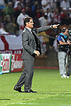 12 JUN 2010:  England head coach Fabio Capello (ITA).  The England National Team and the United States National Team were tied 1-1 after the first half at Royal Bafokeng Stadium in Rustenburg, South Africa in a 2010 FIFA World Cup Group C match.