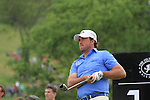 Graeme McDowell teeing off on the 14th on the final day of the Celtic Manor Wales Open 2010.Picture Fran Caffrey/Newsfile.ie