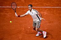 Roger Federer (Sui)<br /> Parigi 31/05/2019 Roland Garros <br /> Tennis Grande Slam 2019 <br /> Foto JB Autissier Panoramic / Insidefoto <br /> ITALY ONLY<br /> Parigi 31/05/2019 Roland Garros <br /> Tennis Grande Slam 2019 <br /> Foto JB Autissier Panoramic / Insidefoto <br /> ITALY ONLY