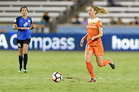 Houston, TX - Sunday August 13, 2017:  Cami Privett during a regular season National Women's Soccer League (NWSL) match between the Houston Dash and FC Kansas City at BBVA Compass Stadium.