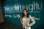 St. Norbert College alum Kim Larsen is a Sales Operations Manager at Breakthrough Fuel. She is pictured at the company's headquarters in Green Bay, Wis., on February 23, 2016.