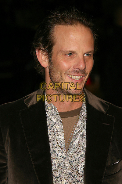 "PETER BERG.""Smokin' Aces"" World Premiere - Arrivals presented by Universal Pictures and Working Title held at the Grauman's Chinese Theater, Hollywood, California, USA..January 18th, 2007.headshot portrait stubble facial hair.CAP/ADM/ZL.©Zach Lipp/AdMedia/Capital Pictures"