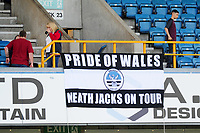 Swansea City banner on display at the Sky Bet Championship match between Millwall and Swansea City at The Den in London, England. September 1, 2018
