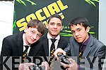 Students from CBS The Green pictured at the Young Entrepreneur Awards in the Malton Hotel on Thursday evening, from left: Davin Barrett, Imed Abnoun, Marsel Fazilov with their project Video Gamers which is the hosting of video game tournaments and events..
