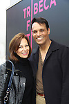 "Another World's Bronson Picket ""Diego Santana"" and As The World Turns' Scott Guthrie"" poses with his wife Lynn Snowden as he stars in at The private Industry Screening of ""The Southside"", A Lany Film Tribute to Robert Areizaga, Jr. on the red carpet on February 27, 2012 at Tribeca Cinemas, New York City, New York.  (Photo by Sue Coflin/Max Photos)"