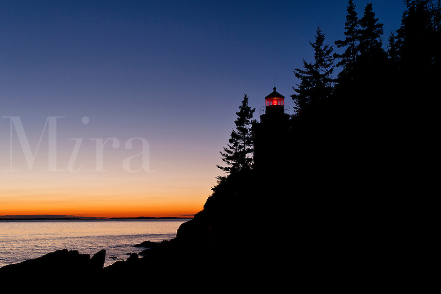 Bass Harbor Lighthouse, Bass Harbor, Maine, ME, USA