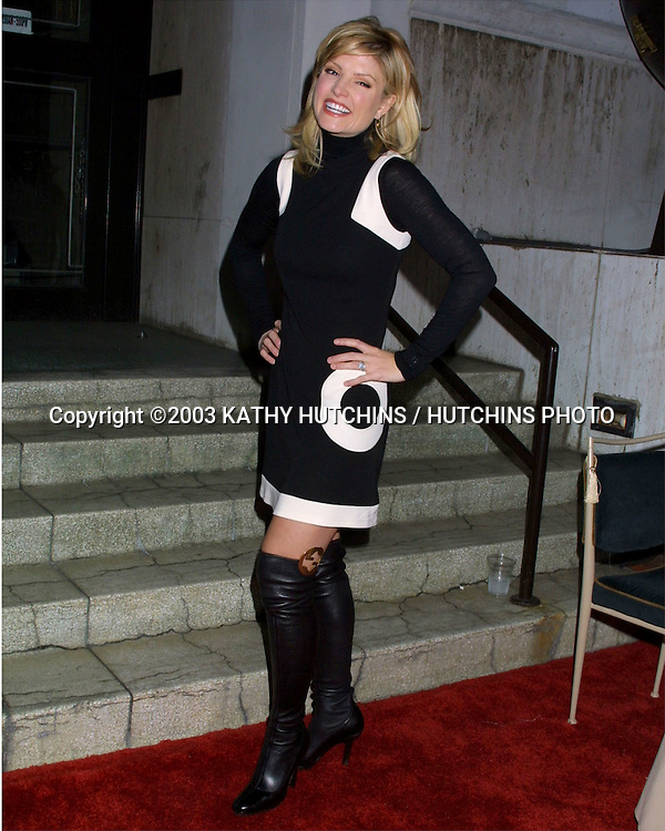 ©2003 KATHY HUTCHINS / HUTCHINS PHOTO.WILLIAM HOLDEN WILDLIFE FOUNDATION'S.BROADWAY GOES TO THE MOVIES .LOS ANGELES, CA.NOVEMBER 1, 2003..DAYNA DEVON