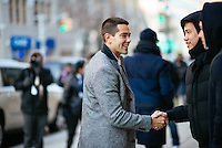 Jesse Metcalfe attends Day 4 of New York Fashion Week on Feb 15, 2015 (Photo by Hunter Abrams/Guest of a Guest)