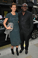 guest and Edward Enninful at the Stella McCartney new eco-friendly flagship store opening party, Stella McCartney, Old Bond Street, London, England, UK, on Tuesday 12 June 2018.<br /> CAP/CAN<br /> &copy;CAN/Capital Pictures