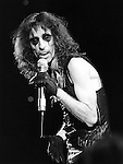 "Alice Cooper 1979 on 'Midnight Special"".© Chris Walter."