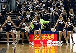 January 14, 2012:   Nevada cheerleaders before their game against the Hawai'i Rainbow Warriors during their NCAA basketball game played at Lawlor Events Center on Saturday night in Reno, Nevada.