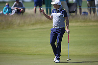 James Morrison (ENG) makes triple backtoback birdie on the 8th  during Round Two of the 2015 Nordea Masters at the PGA Sweden National, Bara, Malmo, Sweden. 05/06/2015. Picture David Lloyd | www.golffile.ie