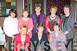 Old friends from Glencar who held a reunion in Paddy's restaurant Killarney on Saturday night front row l-r: Sheila Moloney, Debra Devane, Monica Breen. Back row: Rita O'Dea, Julie O'Connor, Joan McGillicuddy, Mary O'Donoghue and Mary Taylor..