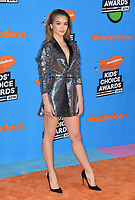 Paris Berelc at Nickelodeon's 2018 Kids' Choice Awards at The Forum, Los Angeles, USA 24 March 2018<br /> Picture: Paul Smith/Featureflash/SilverHub 0208 004 5359 sales@silverhubmedia.com