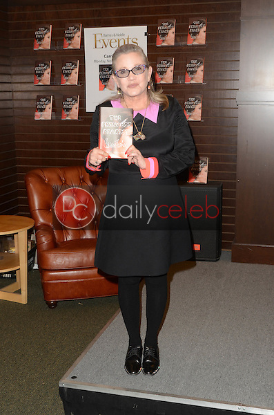 "Carrie Fisher<br /> at the Carrie Fisher book signing for ""The Princess Diarist,"" Barnes & Noble, Los Angeles, CA 11-28-16<br /> David Edwards/DailyCeleb.com 818-249-4998"