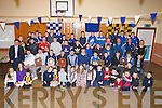 PRESENTATION: Richie Power Kilkenny Hurler seated centre who presented medals and trophies to the Ardfert under 10s to 16 and to the Ardfert minors at a special presentation of medals in Ardfert Community centre on Friday night................. . ............................... ..........
