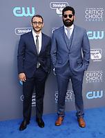 11 January 2018 - Santa Monica, California - Omid Abtahi, Mousa Kraish. 23rd Annual Critics' Choice Awards held at Barker Hangar. <br /> CAP/ADM/BT<br /> &copy;BT/ADM/Capital Pictures