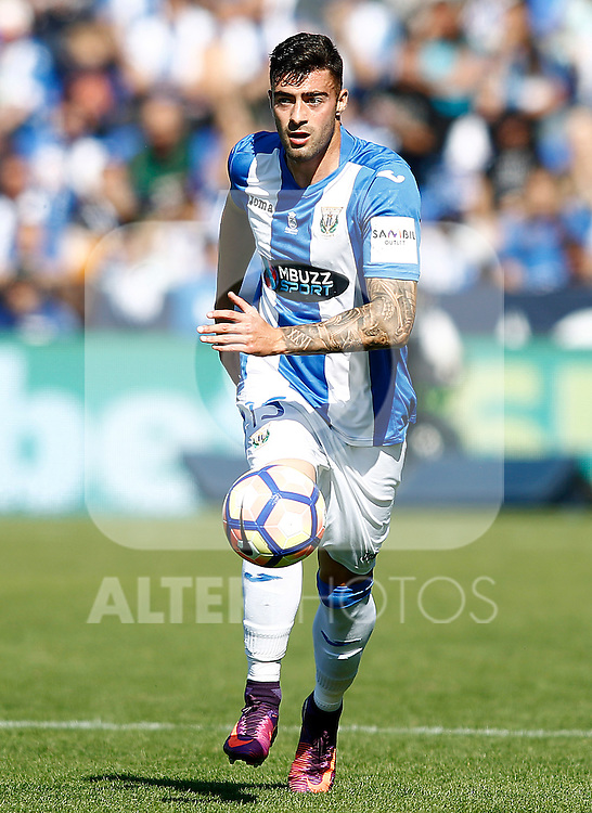 CD Leganes' Diego Rico during La Liga match. October 15,2016. (ALTERPHOTOS/Acero)