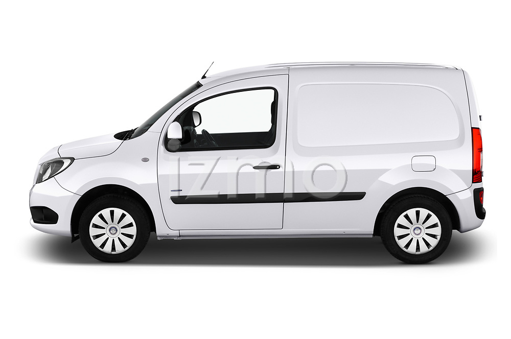 Car Driver side profile view of a 2019 Mercedes Benz Citan Perfect-Tool 5 Door Car Van Side View