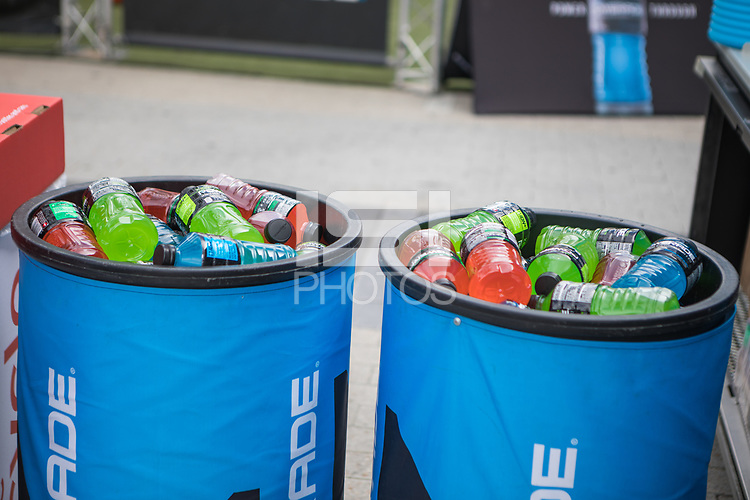 Orlando, FL - Friday Oct. 06, 2017: Powerade during a 2018 FIFA World Cup Qualifier between the men's national teams of the United States (USA) and Panama (PAN) at Orlando City Stadium.