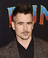HOLLYWOOD, CA - MARCH 11: Colin Farrell attends the premiere of Disney's 'Dumbo' at El Capitan Theatre on March 11, 2019 in Los Angeles, California.<br /> CAP/ROT/TM<br /> &copy;TM/ROT/Capital Pictures