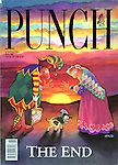Punch front cover, 8 April 1992 (The End)