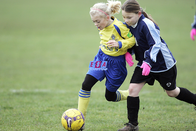 ROMFORD BOROUGH v LEIGH CELTIC<br /> Thundermite League Girls U12 Sunday 24th January 2010 VENUE Old Parkonians FC