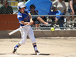 Wildcats' Katilyn Covione hits against College of Southern Nevada at Edmonds Sports Complex Carson City, Nev., on Saturday, May 2, 2015.<br /> Photo by Cathleen Allison
