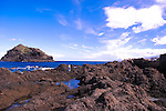 Rockpools off the coast of Garachico, Tenerife, Canary Islands, Spain