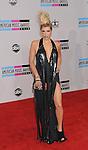 LOS ANGELES, CA. - November 21: Ke$ha arrives at the 2010 American Music Awards held at Nokia Theatre L.A. Live on November 21, 2010 in Los Angeles, California.