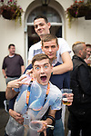 "© Joel Goodman - 07973 332324 . 22/08/2014 .  Manchester , UK . Top to bottom: Brian Dolan (27 from Weaste) , James Corcoran (20 from Harpurhey) and John Wayne (20 from Ancoats) . Manchester Pride "" Big Weekend "" in Manchester's "" Gay Village "" today ( 22nd August 2014 ) . Photo credit : Joel Goodman"