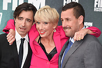 Director Noah Baumbach, Emma Thompson &amp; Adam Sandler at the London Film Festival 2017 screening of &quot;The Meyerowitz Stories&quot; at the Embankment Gardens Cinema, London, UK. <br /> 07 October  2017<br /> Picture: Steve Vas/Featureflash/SilverHub 0208 004 5359 sales@silverhubmedia.com