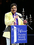 Dale Badway during the 74th Annual Theatre World Awards at Circle in the Square on June 4, 2018 in New York City.