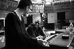 October 08, 2009. Durham, North Carolina..Behind the scenes of the making of the Hallelujah Train, an album featuring PASTOR BRADY BLADE, SR., BRIAN BLADE, BRADY BLADE, JR., DANIEL LANOIS, GREG LEISZ, BUDDY MILLER, CHRIS THOMAS, ADA SMALL, AARON EMBRY & THE ZION BAPTIST CHURCH CHOIR UNDER .THE DIRECTION OF SERECA HENDERSON .