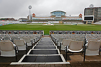 General view from players entrance prior to Nottinghamshire CCC vs Essex CCC, Specsavers County Championship Division 1 Cricket at Trent Bridge on 11th September 2018