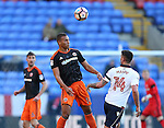 Reece Brown of Sheffield Utd  during the FA Cup Second round match at the Macron Stadium, Bolton. Picture date: December 4th, 2016. Pic Simon Bellis/Sportimage