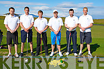 GOLF: The Tralee Senior Cup Team who played Dooks in the first round of the Senior Cup at Tralee Golf Club, on Saturday morning, l-r: Fergal O'Sullivan, Eoghan O'Donnell, Raymond Keily, David Power (manager), David Hennebery and Darren O'Sullivan.