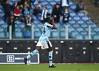 Football, Serie A: S.S. Lazio - Spal, Olympic stadium, Rome, February 2, 2020. <br /> Lazio's Habeeb Omobolaji Adekanye celebrates after scoring during  the Italian Serie A football match between S.S. Lazio and Spali at Rome's Olympic stadium, Rome , on February 2, 2020. <br /> UPDATE IMAGES PRESS/Isabella Bonotto