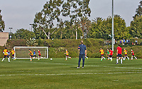 CARSON, California - Thursday, January 9, 2014: US Men's National Team during Winter training camp at StubHub Center.