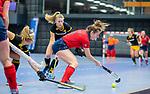 ROTTERDAM  - NK Zaalhockey,   halve finale dames Laren-Den Bosch. Laren wint. Fabienne Roosen (Lar)     COPYRIGHT KOEN SUYK