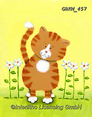 Kate, CUTE ANIMALS, LUSTIGE TIERE, ANIMALITOS DIVERTIDOS, paintings+++++Cute cat 1.,GBKM457,#ac#, EVERYDAY ,cat,cats