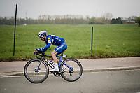 Julian ALAPHILIPPE (FRA/Deceuninck-Quick Step)<br /> <br /> 59th De Brabantse Pijl - La Flèche Brabançonne 2019 (1.HC)<br /> One day race from Leuven to Overijse (BEL/196km)<br /> <br /> ©kramon