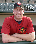 September 5, 2004:  Pitcher Adam Johnson of the Rochester Red Wings, Triple-A International League affiliate of the Minnesota Twins, during a game at Frontier Field in Rochester, NY.  Photo by:  Mike Janes/Four Seam Images