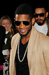 "{LOS ANGELES}, CA - {FEBRUARY} 08: Usher  attends the ""Justin Bieber: Never Say Never"" Los Angeles Premiere at Nokia Theatre L.A. Live on February 8, 2011 in Los Angeles, California."