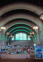 Mission RR Stations: Santa Fe Depot, San Diego--Interior.  (Photo '80)