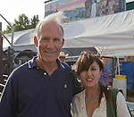 John Bush and Olga Ivona during the Reno Rodeo on Saturday, June 20, 2015.